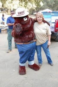 Smokey the Bear and Friend